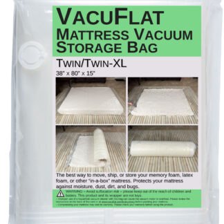 VacuFlat for Twin/Twin XL Mattresses